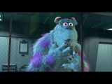 Monsters Inc in english...